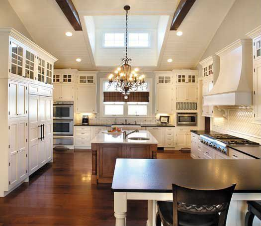 Kitchen Cabinets Vaulted Ceiling 25 of our very best traditional kitchen designs | natural wood