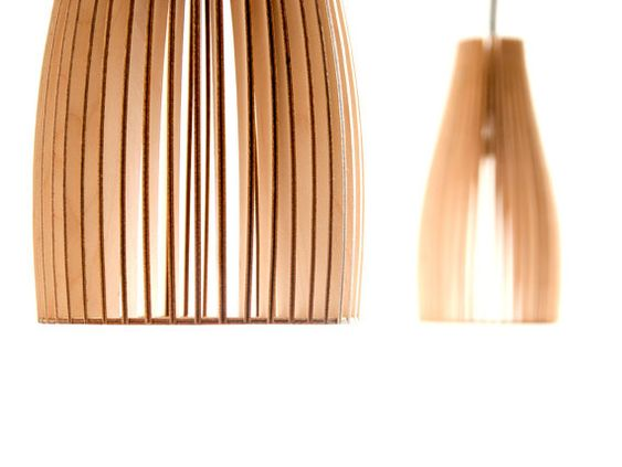 ENA wooden light wood lamp spot light wooden by IUMIDESIGN on Etsy