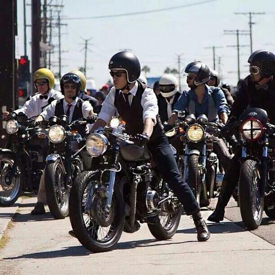 Bike gathering