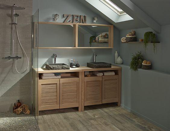 castorama inspirations salle de bain selanga - Tadelakt Salle De Bain Castorama