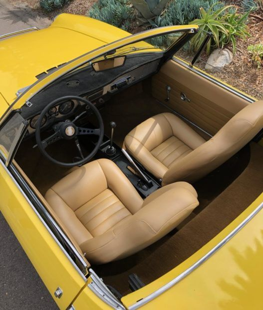 1973 Fiat 850 Sport Spider Fiat Fiat 850 Classic Cars Online