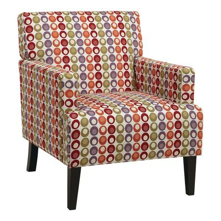 I pinned this Avenue Six Carrington Arm Chair from the Design Icon: Andy Warhol