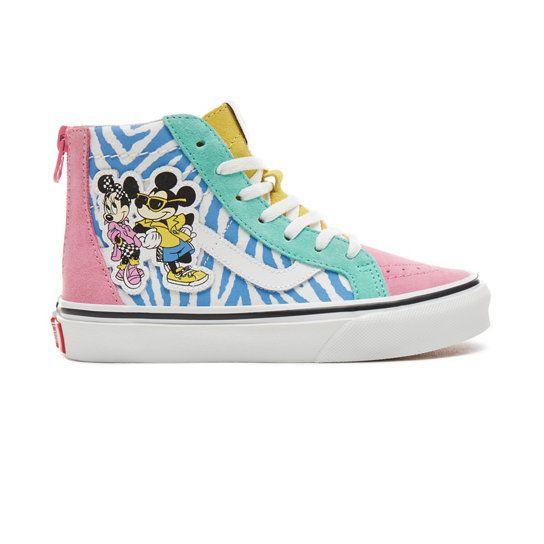 Chaussures Junior Disney X Vans Sk8 Hi Zip (5+ ans