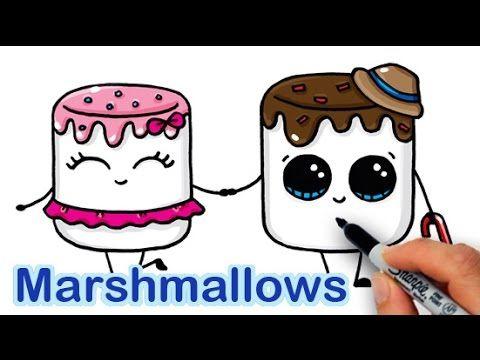 fun 2 draw videos marshmell