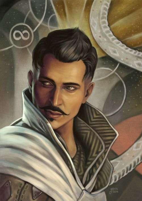 Dorian - Dragon Age Inquisition.  I ADORE this character, so fleshed out and freakin' compelling! Bioware is good at life