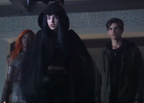 Raven unseen costume from Titans