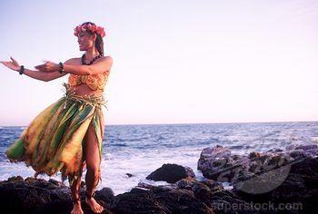 hawaiian+monarchy+women+1800s | Hula Dancer Near Ocean
