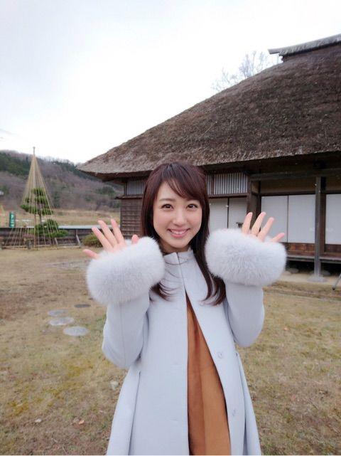 川田裕美アナウンサーのフワフワ