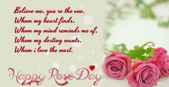 valentine rose day sms in hindi