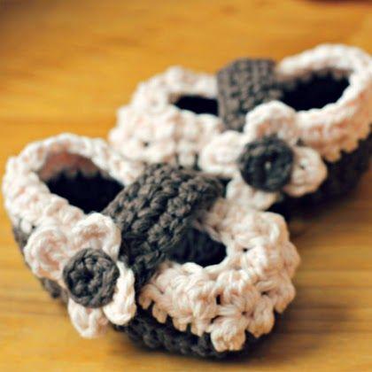 Crochet For Children: Free Crochet Baby Shoe Pattern