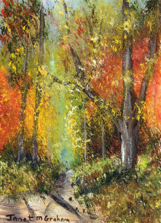 Pinterest the world s catalog of ideas for Painting a forest in acrylics