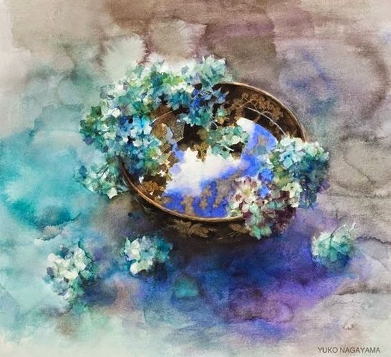 Yuko Nagayama 永山裕子, 1963 ~ Symbolic Watercolor painter | Tutt'Art@ | Pittura * Scultura * Poesia * Musica |:
