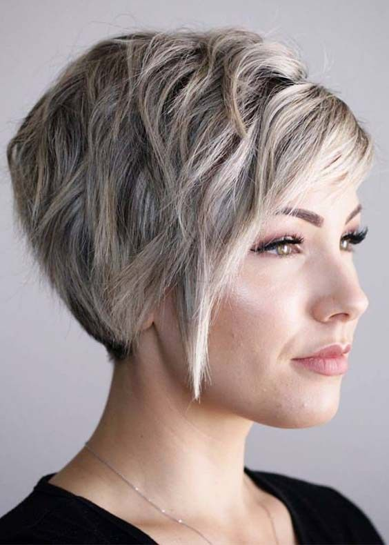 10 Best Short Haircuts For Thick Hair Women In 2018 Best Styles And Ideas For Women Of Short Hairstyl Short Hair Styles Thick Hair Styles Short Bob Hairstyles