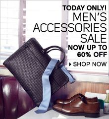 Men Accessories Sale! Ends 6/7/12!