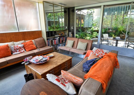 A Look Inside the Neutra VDL House~truly my favorite residential architect.