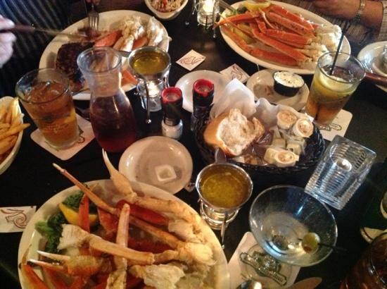 The Seafood Pasta Alfredo Gatsby S And Steakhouse Bay City Pinterest