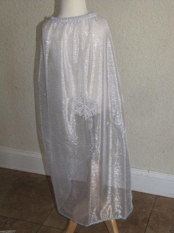 New princess Elsa Frozen Inspired Costume  cape by LITTLERUBI