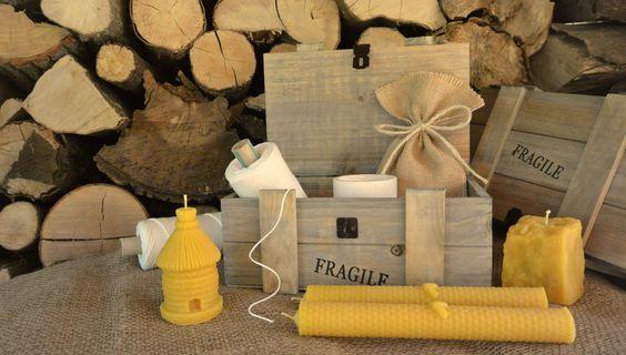 Cire d'Abeille - Fabrication artisanale de bougies en pure cire d'abeille