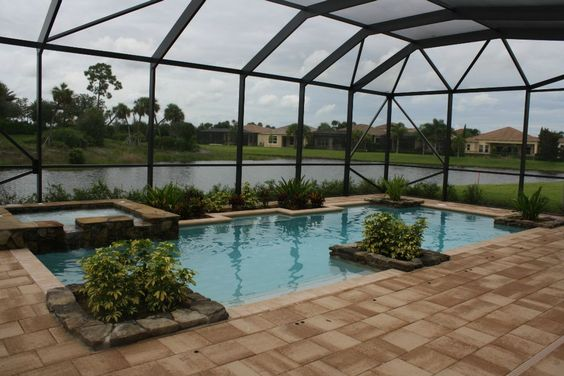 florida style pools and terra cotta on pinterest