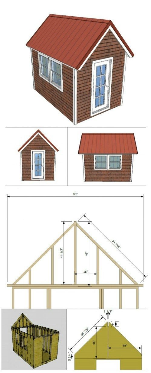 12 Free Diy Tiny House Plans Diy Tiny House Plans Tiny House Plans Diy Tiny House
