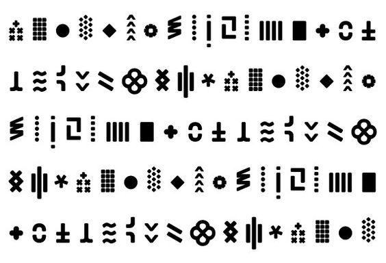 Typography - Visual Edition Logo Symbols.