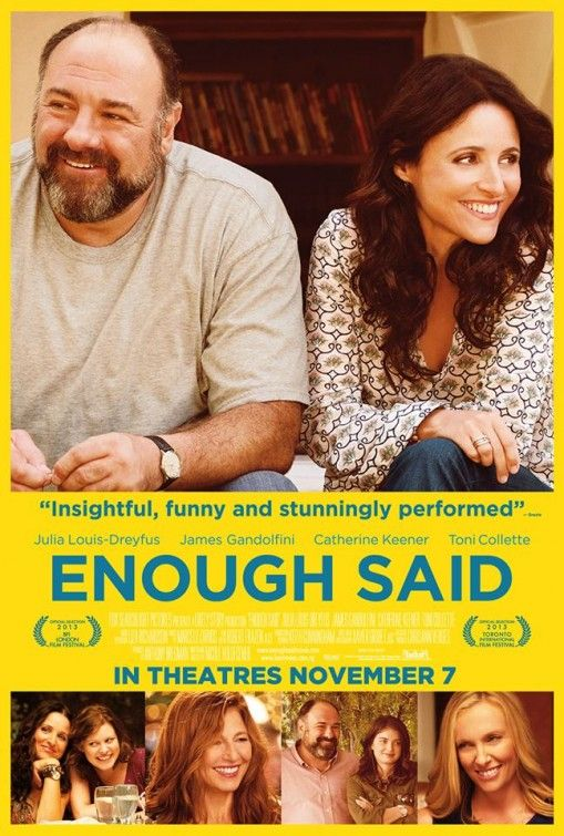 Enough Said Movie Poster