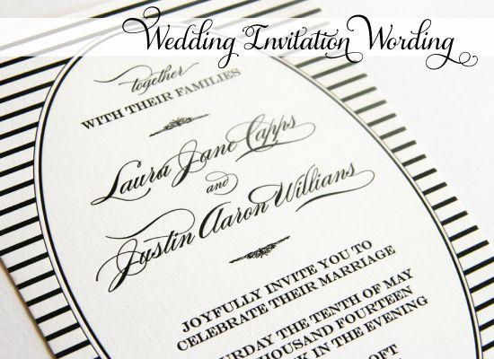 Wedding Invitation Wording Informal: Jordans, Invitation Wording