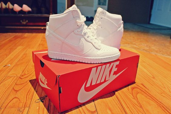 my babies!!! Nike sky hi