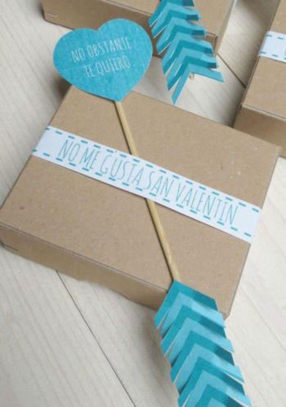 Envoltorios de regalos originales para san valent n - Envoltorios para regalos ...