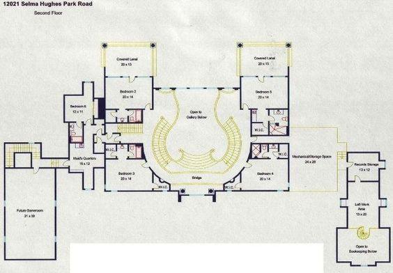 Lake austin mansion s floorplans parks home and lakes for Mega mansion floor plans