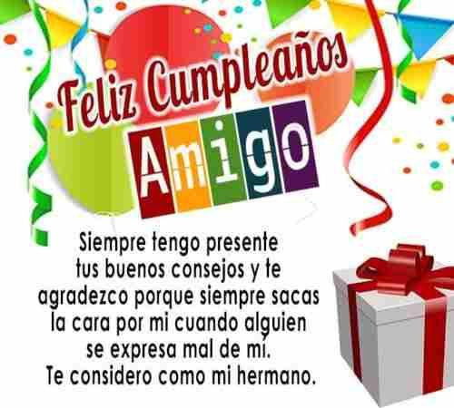 Frases Bonitas De Feliz Cumple Para Tu Amigo Querido Nkĺ Kk Felicitacion De Cumpleaños Amiga Mensaje De Cumpleaños Amiga Felicitaciones De Cumpleaños