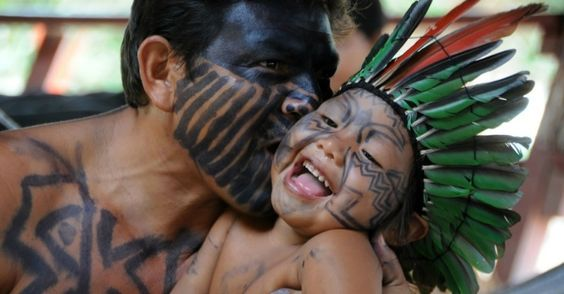 Native People from Brazil