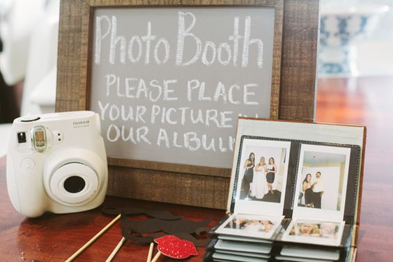 diy fuji instax photo booth wedding | Wedding Faves ...