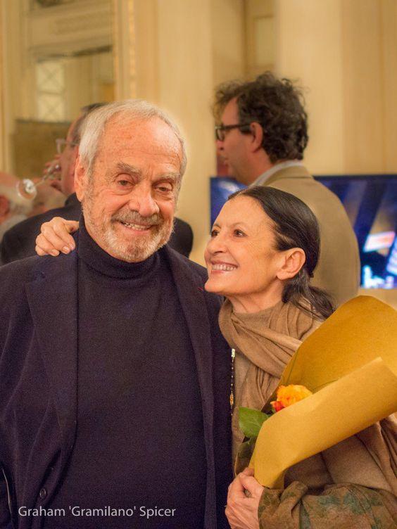 Amici della Scala celebrates Lila de Nobili with Frigerio, Fracci, Bruson and ... - Ezio Frigerio and Carla Fracci