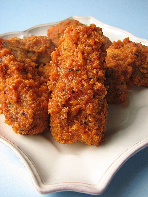 28 Cooks: Tempeh Wings, Wings Recipe, Tempeh Recipe, Buffalo Wings, Vegan Recipes, Vegan Vegetarian, Vegan Buffalo Wing, Vegan Food