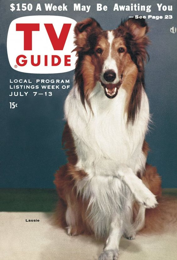 July 7, featuring Lassie.