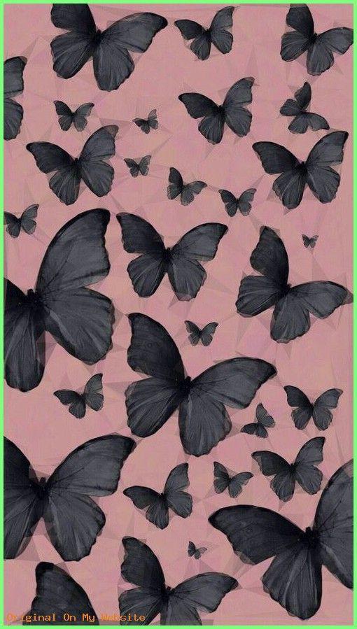 Butterfly Wallpaper Aesthetic Pink