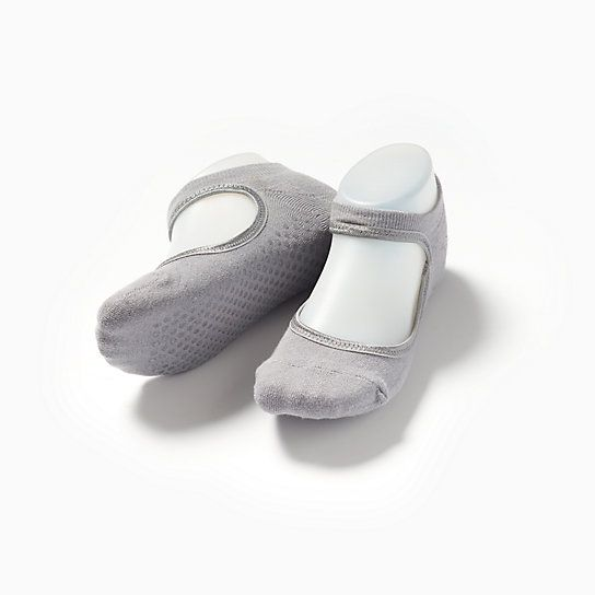 We think you'll love the Ballet Grip Sock with its dance-inspired ankle detail and bottom grippers to help keep you steady at the barre.: