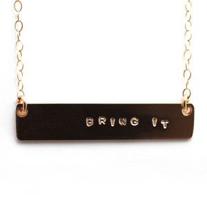 Bring It Necklace now featured on Fab.