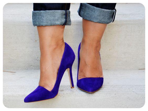 """ALDO """"Romelia"""" pumps #cobalt #blue"""
