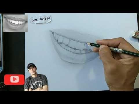 Drawing Tooth Cara Menggambar Belajar Menggambar Pensil Mekanik