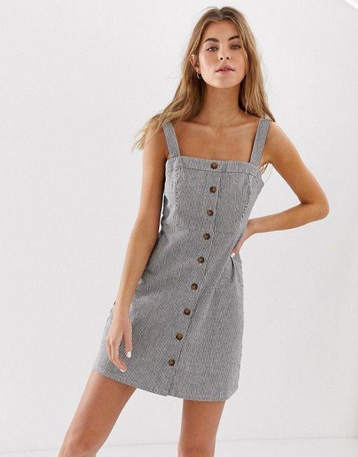 look good shoes sale excellent quality competitive price Hollister | Hollister pinstripe button down dress | Short dresses ...