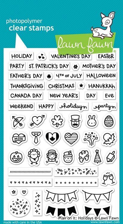 Plan On It: Holidays Stamp Set