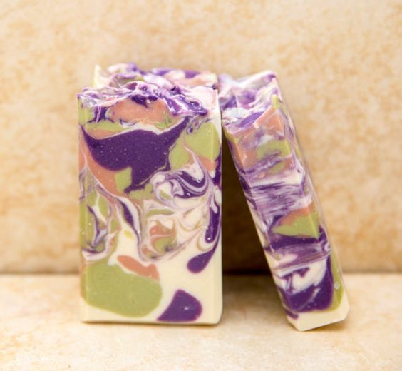 Organic Soap Lilac Hill Soap Gift Soap Handmade by UptownGirlSoap