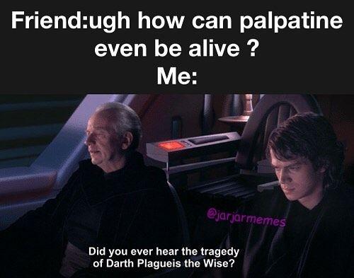 Star Wars Rise Of Skywalker Prequel Memes Palpatine Sheev Star Wars Memes Star Wars Quotes Prequel Memes Star Wars Memes