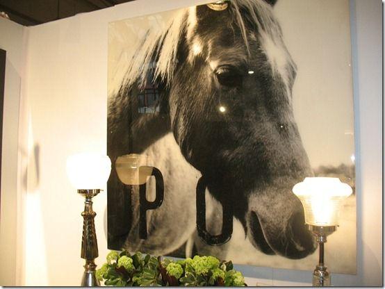 Beautiful, big piece of equine art