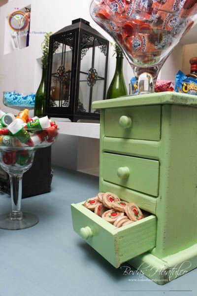 Barra de dulces vintage incluye a tu boda esta decoraci n - Articulos de decoracion ...