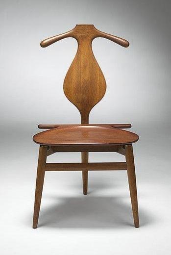... : Hans J. Wegner, Valet chair. Source: Wright20.com