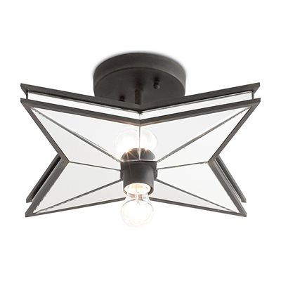 cassiopeia flush mount from currey co lighting