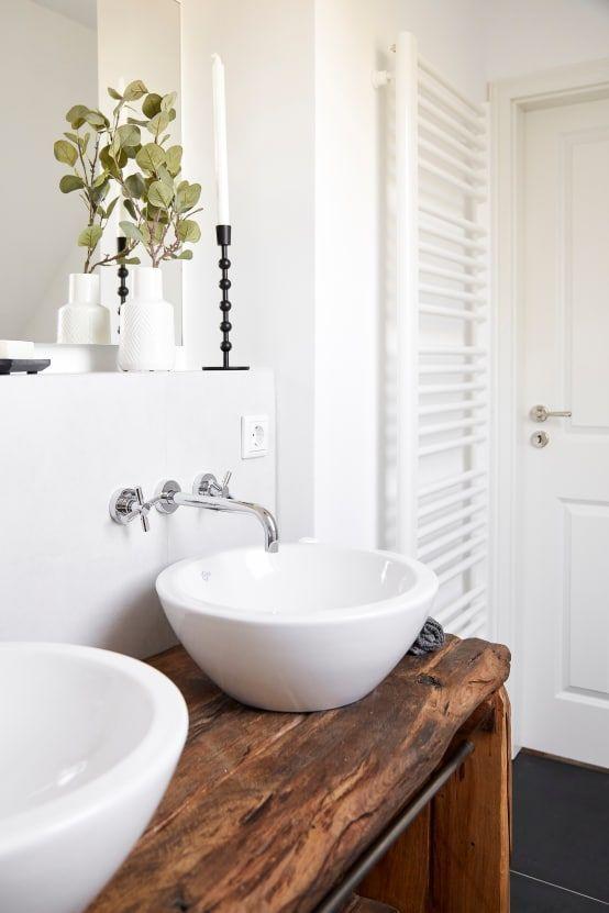 12 fantastische Ideen für kleine Badezimmer - #Badezimmer ...